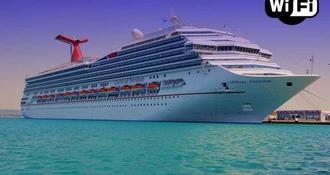 Y-a t-il le wifi sur les bateaux de croisière ? Et combien ça coûte ?
