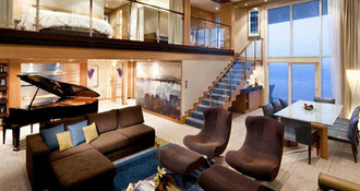 6 suites et cabines de croisière grand luxe qui vont vous étonner
