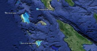 Observer les navires de croisière en direct dans Google Earth, facile !