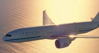 Crystal AirCruises lance sa toute première croisière en avion