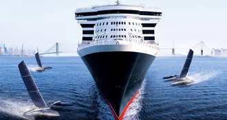 Queen Mary 2 et Saint-Nazaire : l´histoire entre la ville et le navire