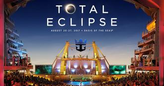 Eclipse en croisière : instant musical rare sur le Oasis of the Seas