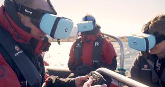 Un drone pour explorer les fonds sous-marins chez Hurtigruten