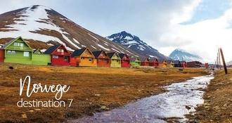 7ème destination :  l'éblouissante Norvège, terre des ours