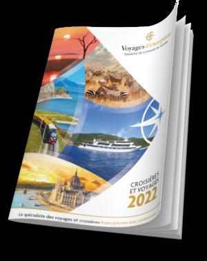 Catalogue général : croisières & voyages 2022