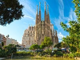 La Sagrada Familia, Barcelone, Espagne