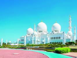 Mosquée Sheikh Zayed, Abou Dabi - Emirats arabes unis
