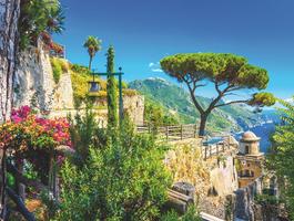 Rufolo garden, Amalfie, Italie