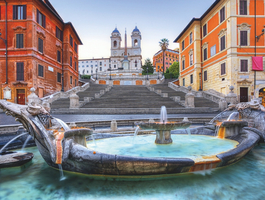 Spanish steps à Rome