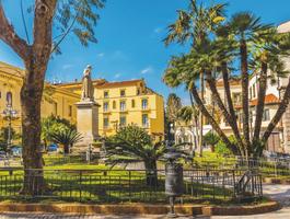 Piazza Saint Antonino, Sorrento, Italie
