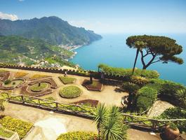 Villa Rufolo, Amalfie, Italie