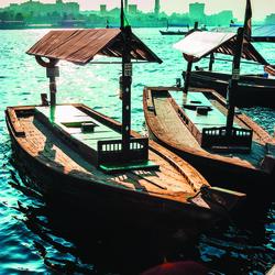 Abra, embarcation traditionnelle, Dubaï - Emirats arabes unis