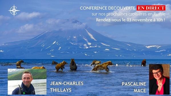 Conférence Découverte n° 12 : Croisières en Russie