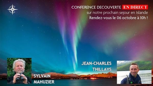 Conférence Découverte n° 10 : Islande