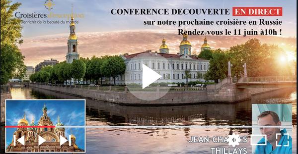 Conférence Découverte Russie