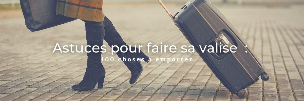 Faire sa valise pour une croisière : les 100 choses à emporter