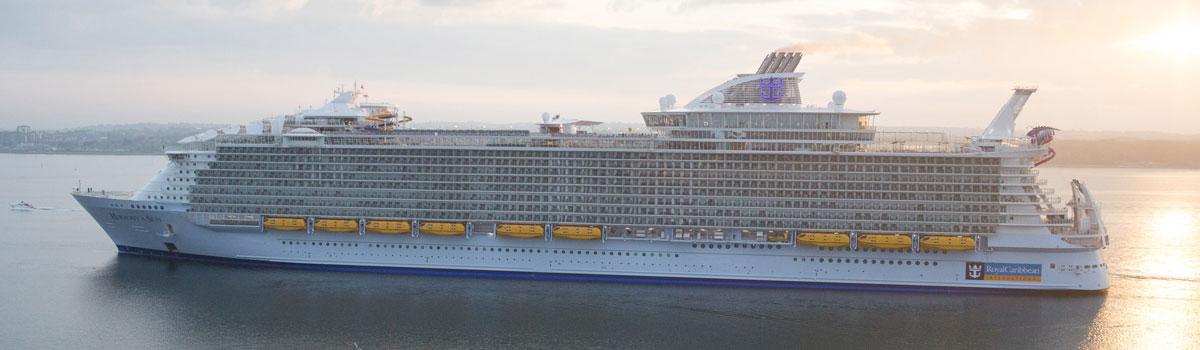 En attendant la mer, l'Harmony of the Seas vogue sur les réseaux sociaux