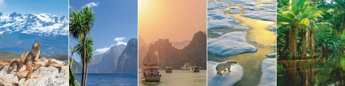 7 destinations de croisière auxquelles on ne pense pas. Dommage…