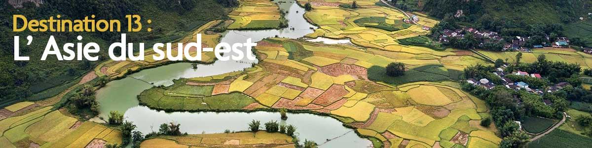 Destination n.13 : Les perles de l'Asie du Sud-Est