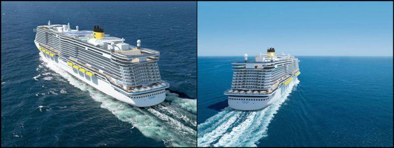 Les futurs navires de la compagnie Costa seront plus écologiques