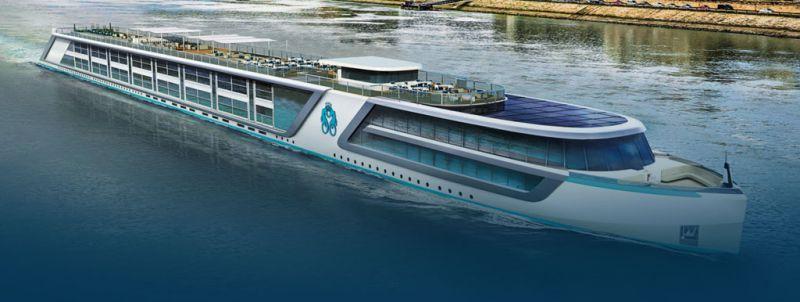 Crystal Cruises dévoile ses itinéraires fluviaux et ses navires