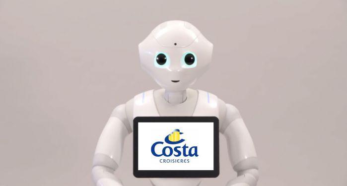 Chez Costa et Aida, les passagers pourront parler avec des robots