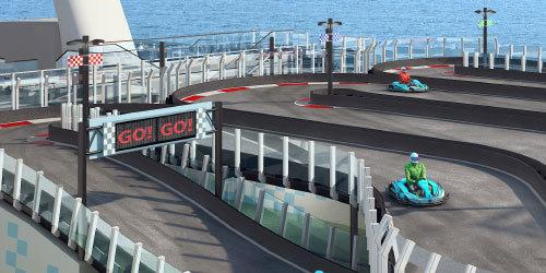 En 2017, vous pourrez conduire un kart en pleine mer !
