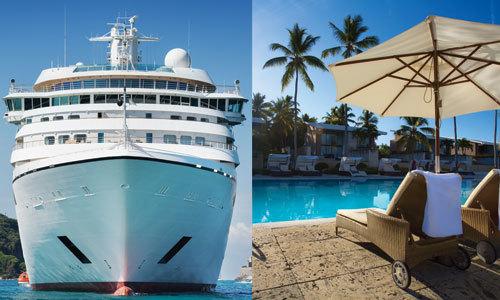 Croisière ou Hôtel : quelles vacances devez-vous choisir ?