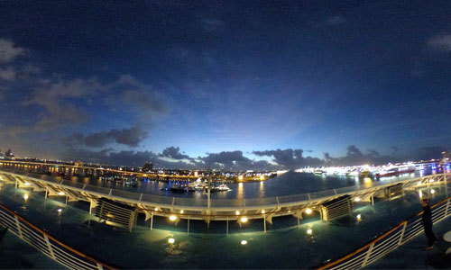 10 vidéos panoramiques de navires de croisière