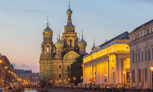 Escales lors d´une croisière en Russie : de Moscou à Saint-Pétersbourg