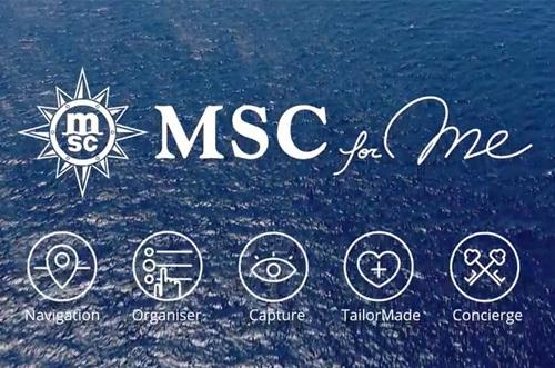 MSC For Me : les nouvelles technologies au service des passagers