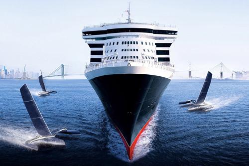 Le Queen Mary 2 et Saint-Nazaire, toute une histoire
