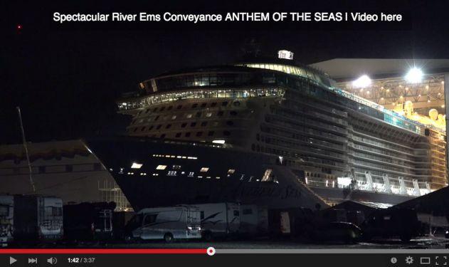 Bienvenue à L'Anthem of the Seas, nouveau navire de la Royal Caribbean