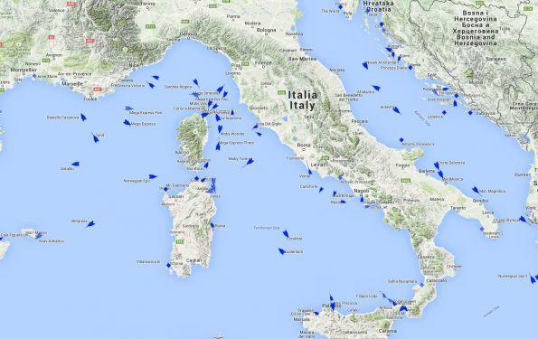 Position des bateaux de croisière : comment la voir en temps réel