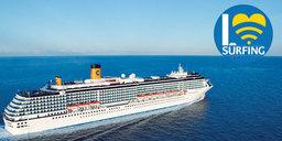 Nouvelles formules Internet pour les passagers de Costa Croisières