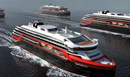 Hurtigruten commande 2 navires d'expédition à propulsion hybride
