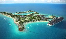 Du retard pour l'île privée de MSC Croisières aux Bahamas
