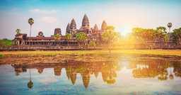 Des temples d'Angkor à Hö-Chi-Minh-Ville (fleuve Mékong)