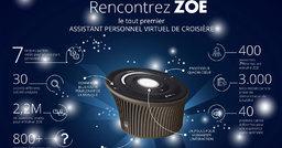 MSC lance Zoé, premier assistant virtuel de croisière