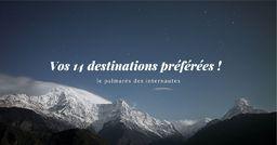 Top 14 : (re)découvrez le classement des meilleures destinations