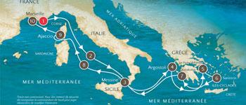 À bord du Voyager, la croisière Nouvel Observateur vous fera découvrir la Sicile, la Grèce et la Corse avec nos conférenciers Jack Lang, François de Closets et Laurent Joffrin