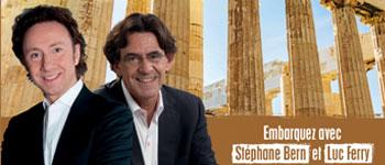 Découvrez les splendeurs de la Méditerranée en compagnie d'invités exceptionnels ; Stéphane Bern, Luc Ferry, Gérard Coulon...Nos invités vous réservent un programme exceptionnel à la découverte des plus belles civilisations.