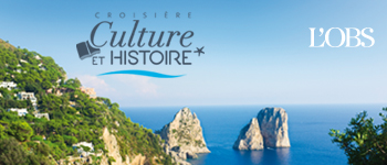 Profitez du soleil et d'escales de rêve en Espagne, Sicile, à Malte et en Italie du 16 au 26 novembre avec 6 conférenciers de renom : Jean Christophe Rufin, Daniel Rondeau, Michel Winock et bien d'autres !