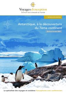 L'Antarctique en croisière sur le Ocean Diamond (mars 2022)