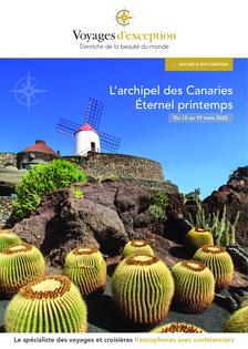 Éternel printemps dans l'archipel des Canaries