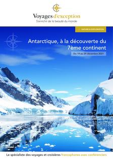 Croisière Antarctique : le continent de l'extrême
