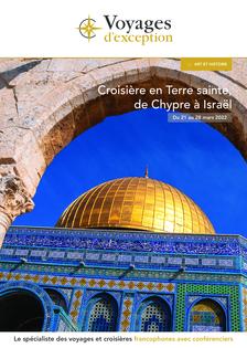Croisière en Terre sainte : de Chypre à Israël