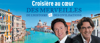 Embarquez avec Stéphane Bern et Luc Ferry pour une croisière magnifique sur la mer adriatique, du 11 au 18 novembre 2016.