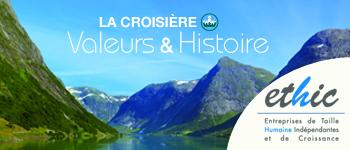 François d'Orcival, A. Bercoff, Camille Pascal et Sophie de Menthon seront les conférenciers de la Croisière Valeurs & Histoire 2016 en mer du Nord.