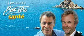 Embarquez avec Jean-Michel Cohen et Frédéric Lenoir pour la croisière Santé magazine, du 2 au 14 novembre  2016. L'occasion de visiter les plus beaux endroits d'Italie et de Grèce.